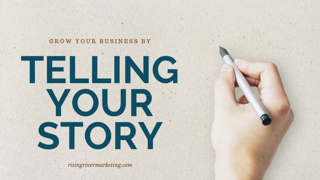 Sharing your business story